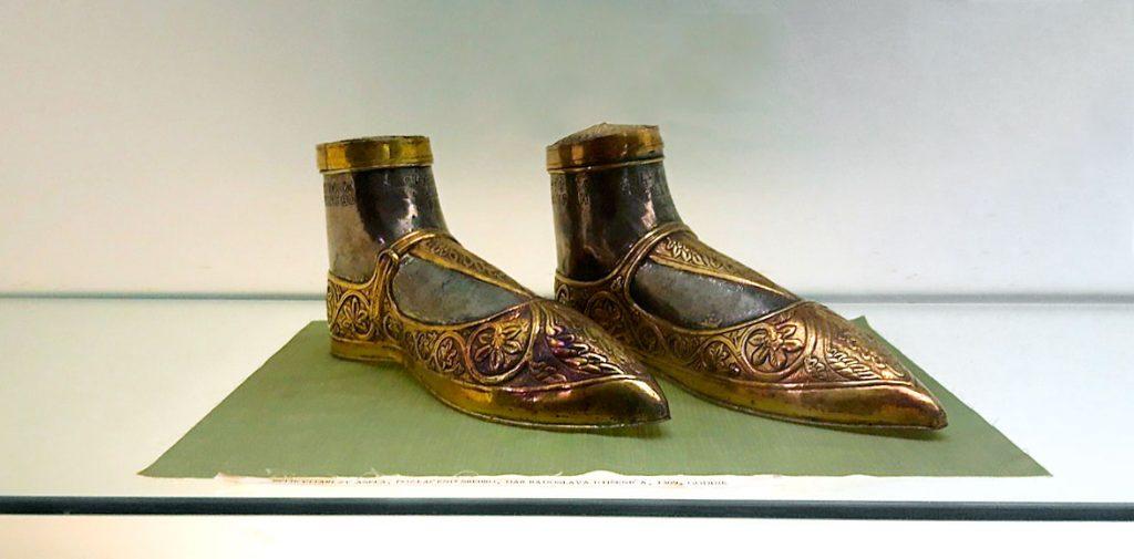 Relikvijar stopala svetog Anselma