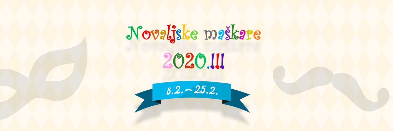 Novaljske maskare 2020