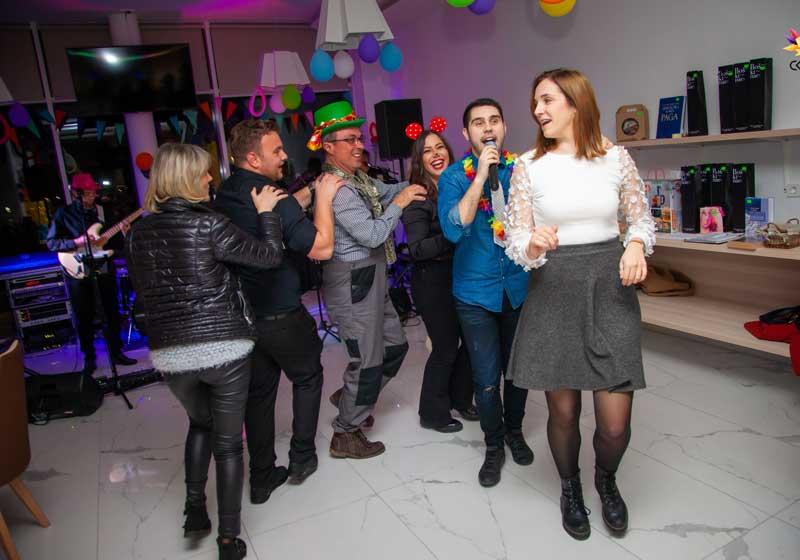 Maškarani tanci Novalja 2020