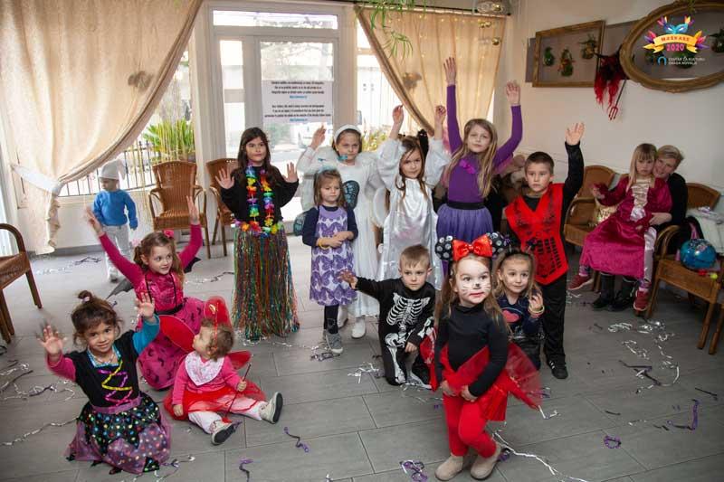 Dječje maškare Novalja 2020